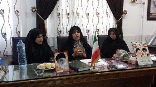 کارگروه شهرستانی بانوان گرامیداشت چهلمین سالگرد پیروزی انقلاب اسلامی تشکیل شد
