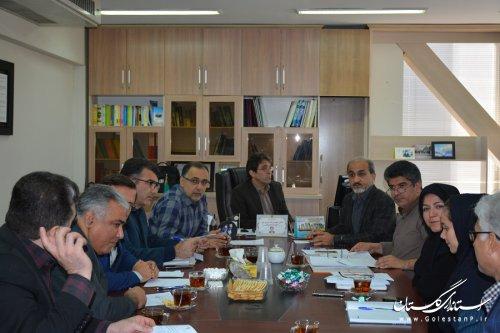 کمیته سلامت اداری مدیریت درمان گلستان نشکیل شد