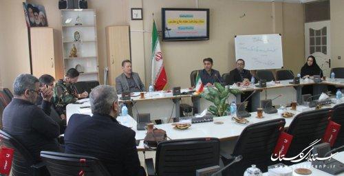 جلسه کارگروه فرهنگی ستاد بزرگداشت هفته دفاع مقدس در استان گلستان تشکیل شد