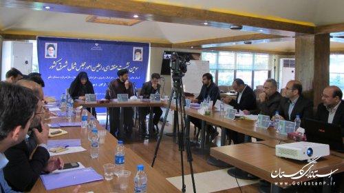 سومین نشست منطقهای رابطین امور مجلس استانهای شمال شرق کشور در گرگان برگزار شد