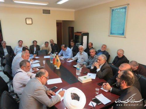 برگزاری جلسه هماهنگی با کارگزاران زیارتی استان در خصوص زائران اربعین حسینی (ع)
