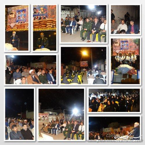 """مراسم افتخار کوچه """"آبروی محله"""" در محله موسی ابن جعفر شهرفاضل آباد"""