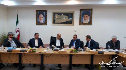 سفیر اوکراین با استاندار گلستان دیدار کرد