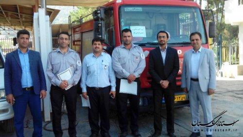 اقدامات شهرداری رامیان در روز آتش نشانی و ایمنی