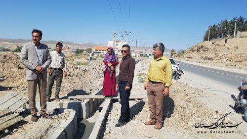 بازدید شهردار و اعضای شورای اسلامی شهر مراوه تپه از وردی شهر