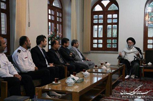 تقدیر نماینده ولیفقیه در استان گلستان از عملکرد شهرداری گرگان