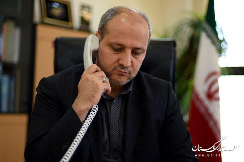 تماس تلفنی وزیر کشور با استاندار گلستان جهت مقابله با سیلاب های احتمالی