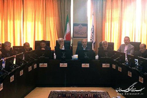 جلسه مشترک استاندار گلستان با کمیسیون آموزش مجلس پیرامون ارتقا بودجه دانشگاه ها ومدارس