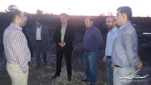 پیشرفت 70 درصدی پروژه تصفیه خانه فاضلاب مجتمع تلور شهرستان بندرگز