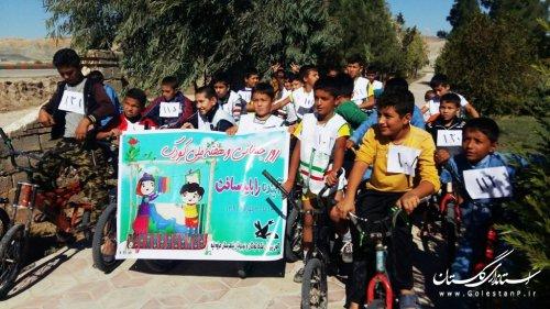 دوچرخهسواری تا بازدید از نمایشگاه هفته ملی کودک
