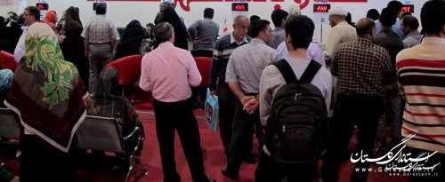 یک میلیارد و دویست و نود میلیون ریال بن در نخستین روز نمایشگاه کتاب گلستان