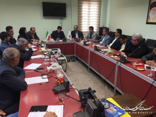 برگزاری دومین جلسه کمیته های ثبت نام و اعزام زائران اربعین 97 استان گلستان
