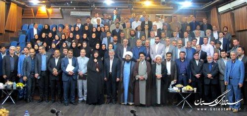 دیدار و نشست صمیمی وزیر فرهنگ و ارشاد اسلامی گلستان با همکاران اداره کل