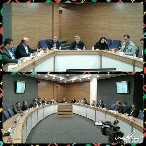 سومین جلسه شورای مسکن استان گلستان برگزار شد