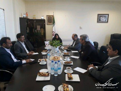 کارگروه مشورتی امور حقوقی شهرداری های استان گلستان برگزار شد