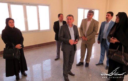 بازدید مدیرکل فرهنگ و ارشاد اسلامی گلستان از مجتمع فرهنگی و هنری آق قلا