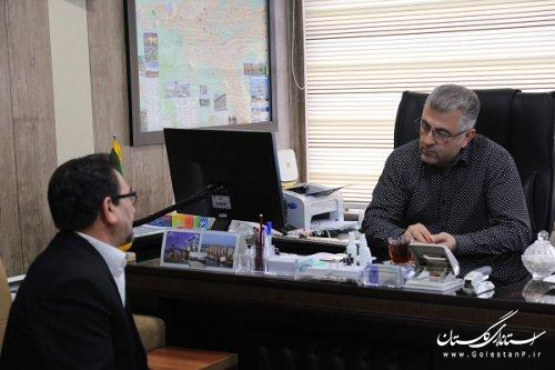 ملاقات حضوری جمعی از مردم استان با مدیر کل راه آهن شمال شرق 2