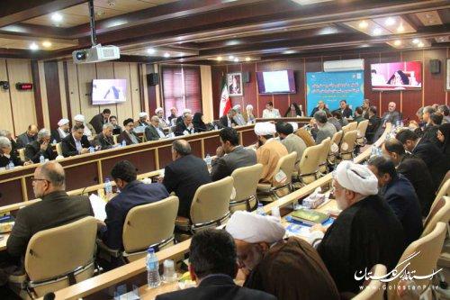 گردهمایی هیات رییسه های شوراهای فرهنگ عمومی شهرستان های استان گلستان برگزار شد