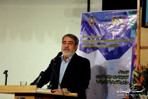 اولین کنفرانس بین المللی امنیت،پیشرفت و توسعه پایدار مناطق مرزی برگزار شد