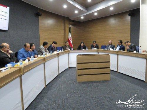نشست مسئولین آموزش دفتر امور شهری و شوراهای استانداریهای کشور در استان گلستان