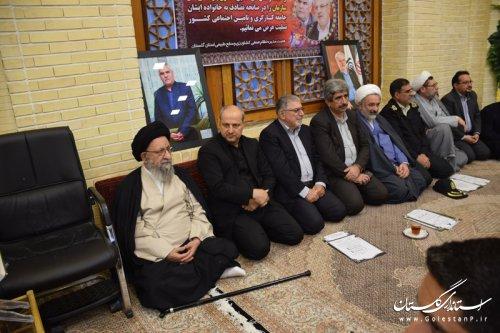 مراسم یادبود مرحومان دکتر نوربخش و تاج الدین در گرگان برگزار شد