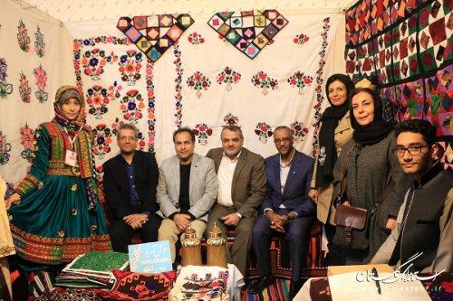 شرکت اتباع افغانستانی مقیم استان در دوازدهین جشنواره بین المللی فرهنگ اقوام