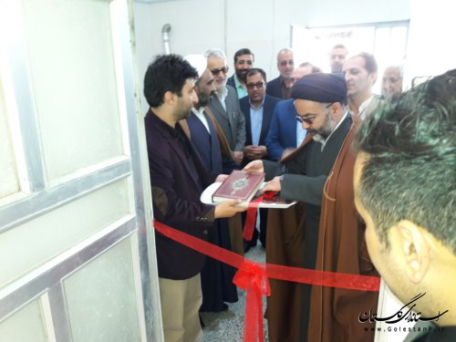 افتتاح نمایشگاه اثار خوشنویس و رونمایی از قرآن کریم با خط شکسته نستعلیق در فاضل آباد