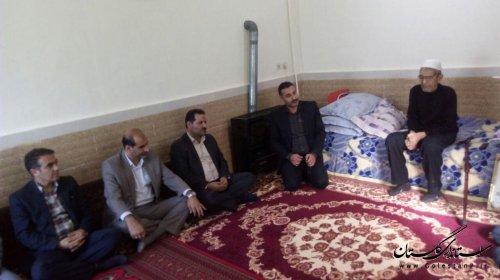 دیدار با خانواده شهید ولی الله نظرخانی بمناسبت گرامیداشت هفته وحدت و بزرگداشت هفته بسیج