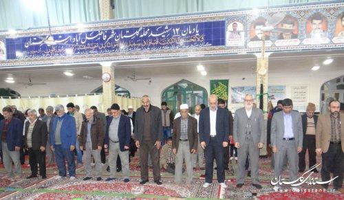 جلسه هم اندیشی و پرسش و پاسخ مردم و مسئولین در محله گلستان شهر فاضل آباد برگزار شد
