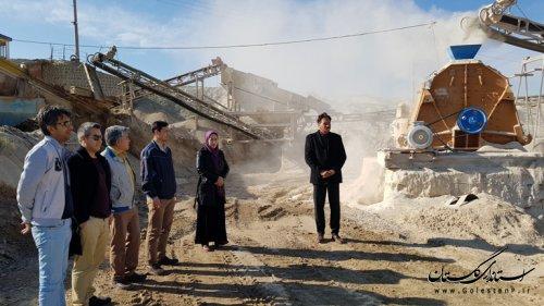 کارگاه سنگ شکن شهرداری مراوه تپه نوسازی و تجهیز شد