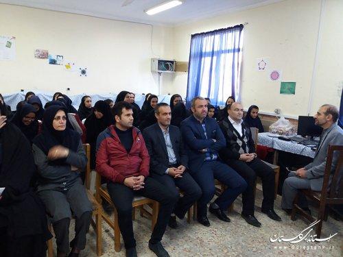 برگزاری دومین کارگاه آموزشی راهکارهای کاهش و تفکیک زباله از مبدا در کردکوی