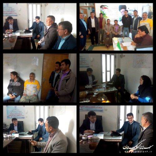 ملاقات عمومی مدیرعامل شرکت آبفار گلستان با مردم در مراوه تپه برگزار شد