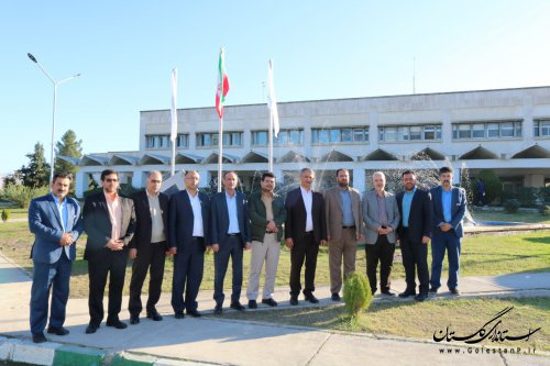 مسئولین شهرستان گنبدکاووس از بیمارستان تامین اجتماعی این شهر بازدید کردند