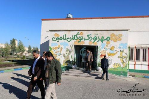 بازدید مسئولین شهرستان گنبدکاووس از بیمارستان تامین اجتماعی