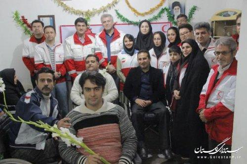 طرح یلدانه در جمعیت هلال احمر گلستان اجرا شد