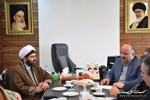 نشست مشترک مدیران کل اوقاف و زندانهای استان گلستان