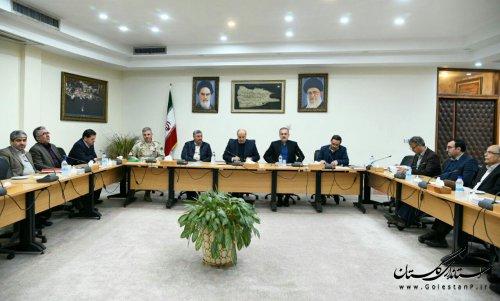 نخستین جلسه شورای راهبردی توسعه مدیریت استان با حضور استاندار گلستان برگزار شد