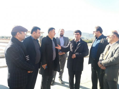 بازدید مدیرکل تعاون، کار و رفاه اجتماعی از طرح های اشتغالزا شهرستان آزادشهر