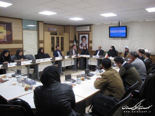 نشست خبری آزمون سراسری حفظ و مفاهیم قرآن کریم در استان گلستان برگزار شد