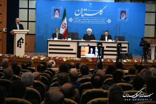 گلستان با تشکیل خانه احزاب زمینه وحدت بیشتر را فراهم کرده است