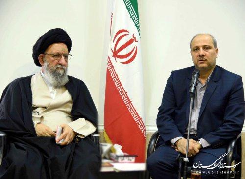 تقدیر نماینده ولی فقیه در استان و استاندار گلستان از حضور مردم در سفر رئیس جمهوری به استان