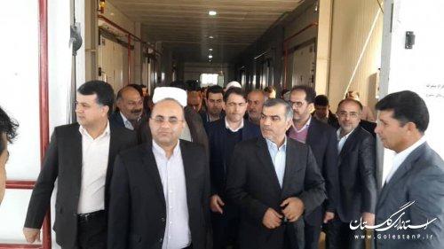 افتتاح متمرکز 40 پروژه اشتغالزا روستایی استان گلستان