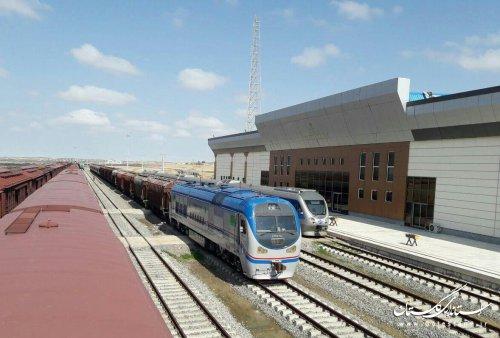 رشد 137 درصدی حمل و نقل بین المللی راه آهن منطقه شمالشرق 2 در 9 ماهه امسال
