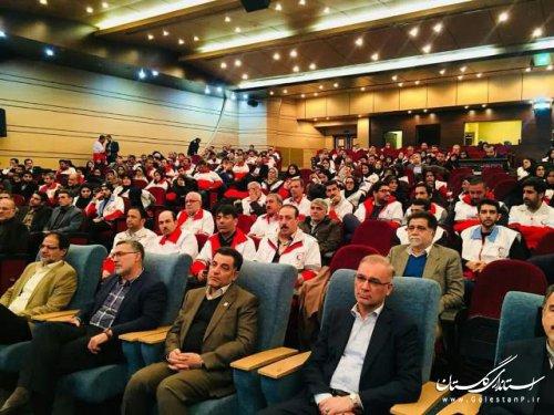 برگ زرین دیگری در دفتر افتخارات جمعیت هلال احمر گلستان رقم خورد