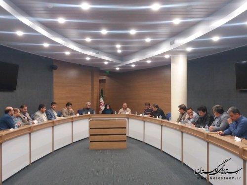 برگزاری جلسه کارگروه تخصصی کمیته بودجه و درآمد شهرداریهای استان
