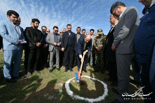 عملیات اجرایی احداث دو گلخانه در روستای چپرقویمه آغاز شد