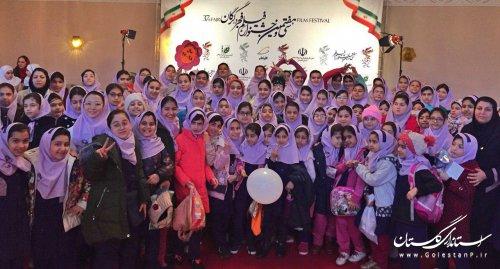 استقبال پرشور دانش آموزان گلستانی از فیلم های بخش «سیمرغ و پروانه ها»