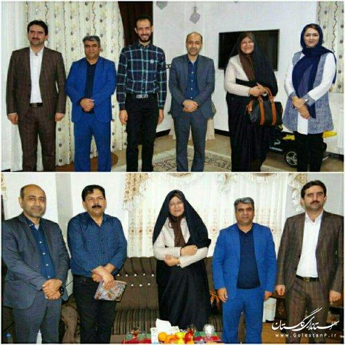 دیدار مدیرکل فرهنگ و ارشاد اسلامی گلستان با دو فرهیخته فرهنگی و هنری رامیانی