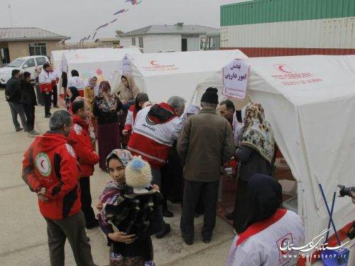 3215 نفر از خدمات پزشکي و پيراپزشکي جمعيت هلال احمر در گلستان بهره مند شدند