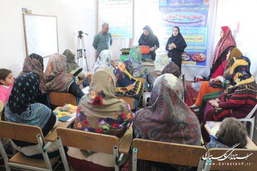 برگزاری دوره آموزشی طبخ آبزیان در روستای خواجه نفس
